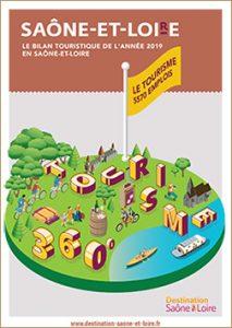 Bilan touristique de la Saône-et-Loire 2019