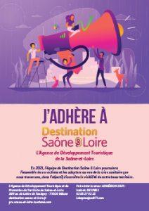 Adhérer à Destination Saône & Loire-en-2021