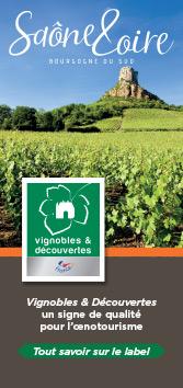 dépliant Vignobles & Découvertes - Saône-et-Loire