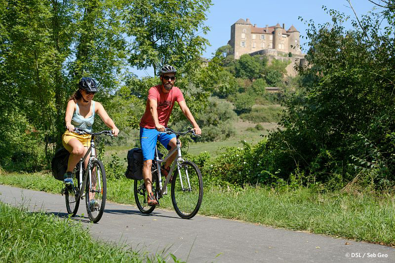 Accueil Vélo en Saône-et-Loire